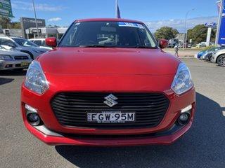2019 Suzuki Swift AZ GL Navigator Red 1 Speed Constant Variable Hatchback.