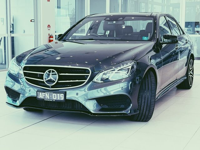 Used Mercedes-Benz E-Class W212 805MY E250 7G-Tronic + Essendon Fields, 2014 Mercedes-Benz E-Class W212 805MY E250 7G-Tronic + Grey 7 Speed Sports Automatic Sedan