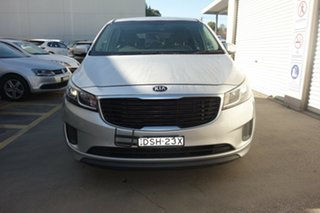 2015 Kia Carnival YP MY15 S Silver, Chrome 6 Speed Sports Automatic Wagon.