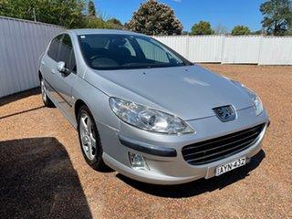 2006 Peugeot 407 ST HDi Executive Silver 4 Speed Sports Automatic Sedan.