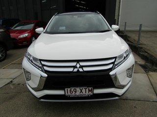 2017 Mitsubishi Eclipse Cross YA MY18 Exceed AWD White 8 Speed Constant Variable Wagon