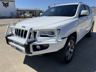 2015 Jeep Grand Cherokee WK MY15 Overland White/310816 8 Speed Sports Automatic Wagon