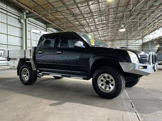 2007 Holden Rodeo RA MY07 LT Crew Cab Black 4 Speed Automatic Utility.