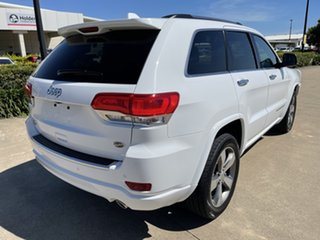 2015 Jeep Grand Cherokee WK MY15 Overland White/310816 8 Speed Sports Automatic Wagon.