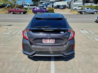 2018 Honda Civic 10th Gen MY18 VTi-LX Grey 1 Speed Constant Variable Hatchback