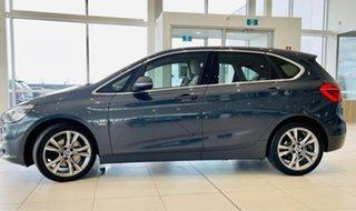 2015 BMW 2 Series F45 220i Active Tourer Steptronic Luxury Line Grey 8 Speed Automatic Hatchback