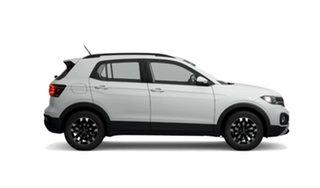 2021 Volkswagen T-Cross C1 MY21 85TSI DSG FWD Life White 7 Speed Sports Automatic Dual Clutch Wagon.