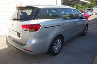 2015 Kia Carnival YP MY15 S Silver, Chrome 6 Speed Sports Automatic Wagon