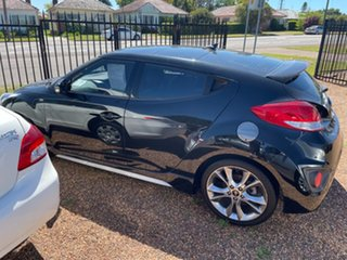 2015 Hyundai Veloster FS4 Series II SR Coupe D-CT Turbo Black 7 Speed Sports Automatic Dual Clutch