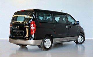 2014 Hyundai iMAX TQ-W MY13 Black 5 Speed Automatic Wagon.