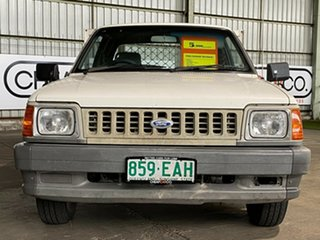 1995 Ford Courier PC XL Super Cab 4x2 White 5 Speed Manual Utility
