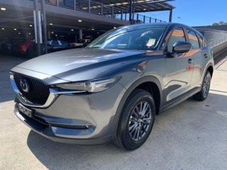 2021 Mazda CX-5 KF2W7A Maxx SKYACTIV-Drive FWD Sport Machine Grey 6 Speed Sports Automatic Wagon