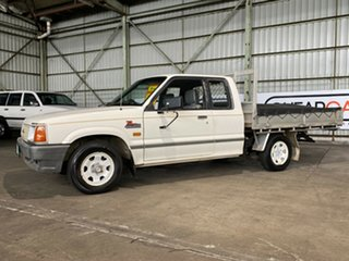 1995 Ford Courier PC XL Super Cab 4x2 White 5 Speed Manual Utility.