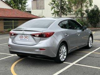 2016 Mazda 3 BM5238 SP25 SKYACTIV-Drive Silver 6 Speed Sports Automatic Sedan.