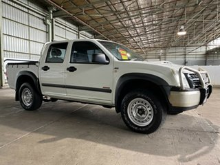 2007 Holden Rodeo RA MY07 LX Crew Cab White 4 Speed Automatic Utility.