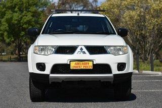 2012 Mitsubishi Challenger PB (KG) MY13 2WD White 5 Speed Sports Automatic Wagon.