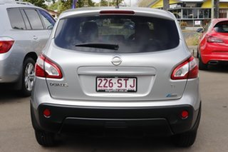 2012 Nissan Dualis J10W Series 3 MY12 Ti-L X-tronic AWD Silver 6 Speed Constant Variable Hatchback