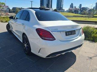 2017 Mercedes-Benz C-Class W205 C250 White Sports Automatic Sedan.