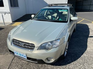 2005 Subaru Outback B4A MY06 R AWD Gold 5 Speed Sports Automatic Wagon
