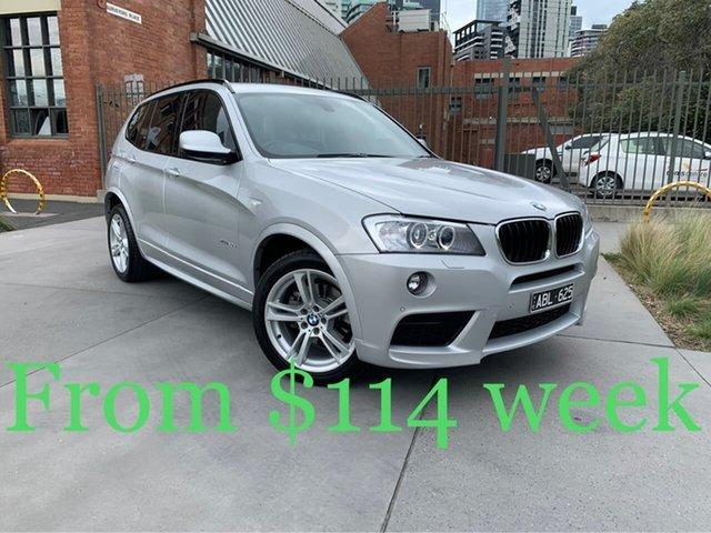 Used BMW X3 F25 MY1213 xDrive20d Steptronic South Melbourne, 2014 BMW X3 F25 MY1213 xDrive20d Steptronic Silver 8 Speed Automatic Wagon