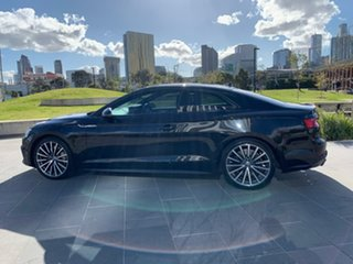 2017 Audi A5 F5 MY18 Sport S Tronic Quattro Black 7 Speed Sports Automatic Dual Clutch Coupe.