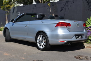 2012 Volkswagen EOS 1F MY12 155TSI DSG Silver 6 Speed Sports Automatic Dual Clutch Convertible.