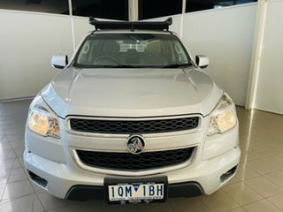 2015 Holden Colorado RG MY15 LS Crew Cab 4x2 Silver, Chrome 6 Speed Sports Automatic Cab Chassis.