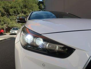 2018 Hyundai i30 PD.3 MY19 N Line D-CT Premium White 7 Speed Sports Automatic Dual Clutch Hatchback.