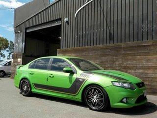 2009 Ford Falcon FG XR6 Green 5 Speed Sports Automatic Sedan.