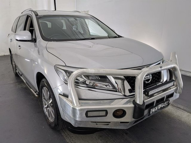 Used Nissan Pathfinder R52 MY15 ST X-tronic 2WD Maryville, 2015 Nissan Pathfinder R52 MY15 ST X-tronic 2WD Silver 1 Speed Constant Variable Wagon
