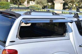 2007 Mitsubishi Triton ML MY07 GLX-R Double Cab Silver 5 Speed Manual Utility