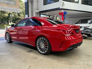 2014 Mercedes-Benz CLA-Class C117 CLA45 AMG Red Sports Automatic Dual Clutch Coupe