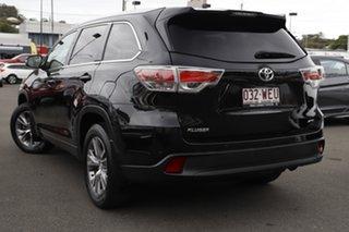 2015 Toyota Kluger GSU55R GXL AWD Black 6 Speed Sports Automatic Wagon.