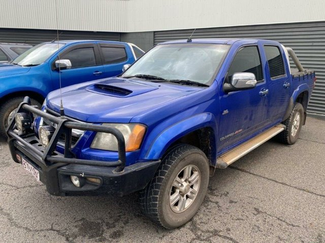 Used Holden Colorado RC MY10 LT-R Crew Cab Gladstone, 2010 Holden Colorado RC MY10 LT-R Crew Cab Blue 5 Speed Manual Utility