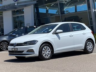 2021 Volkswagen Polo AW MY21 70TSI Trendline White 5 Speed Manual Hatchback.