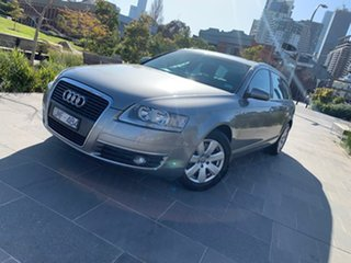 2005 Audi A6 4F Avant Multitronic Beige 1 Speed Constant Variable Wagon.