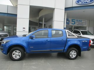 2019 Holden Colorado RG MY19 LS (4x4) (5Yr) Blue 6 Speed Automatic Crew Cab Chassis.