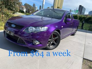 2010 Ford Falcon FG XR6 Ute Super Cab 50th Anniversary Purple 6 Speed Sports Automatic Utility.