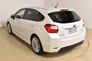 2012 Subaru Impreza G4 MY12 2.0i-S Lineartronic AWD White 6 Speed Constant Variable Hatchback