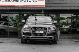 2012 Audi Q7 MY12 TDI Tiptronic Quattro Grey 8 Speed Sports Automatic Wagon.