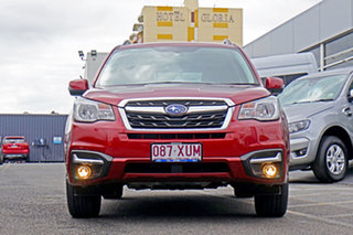 2017 Subaru Forester S4 MY18 2.5i-L CVT AWD Red 6 Speed Constant Variable Wagon.