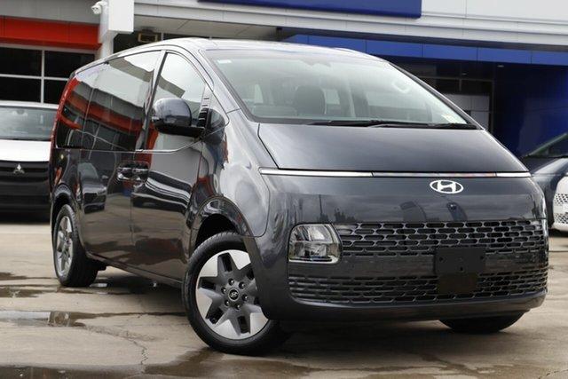 New Hyundai Staria US4.V1 MY22 2WD Moorooka, 2021 Hyundai Staria US4.V1 MY22 2WD Moonlight Blue 8 Speed Sports Automatic Wagon