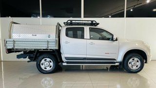 2015 Holden Colorado RG MY15 LS Crew Cab 4x2 Silver, Chrome 6 Speed Sports Automatic Cab Chassis