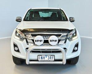 2018 Isuzu D-MAX MY18 LS-U Crew Cab 4x2 High Ride White 6 Speed Sports Automatic Utility.