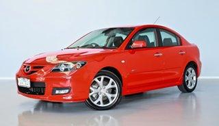 2007 Mazda 3 BK1032 SP23 Red 6 Speed Manual Sedan.