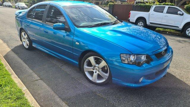 Used Ford Falcon BA XR8 Prospect, 2004 Ford Falcon BA XR8 Blueprint 4 Speed Auto Seq Sportshift Sedan