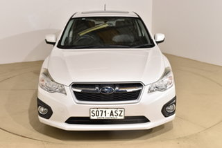2012 Subaru Impreza G4 MY12 2.0i-S Lineartronic AWD White 6 Speed Constant Variable Hatchback.