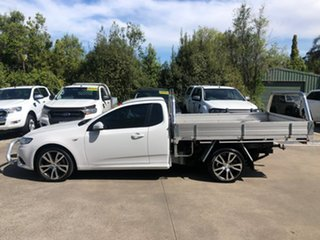 2014 Ford Falcon FG MkII XR6 Super Cab EcoLPi White 6 Speed Sports Automatic Cab Chassis.