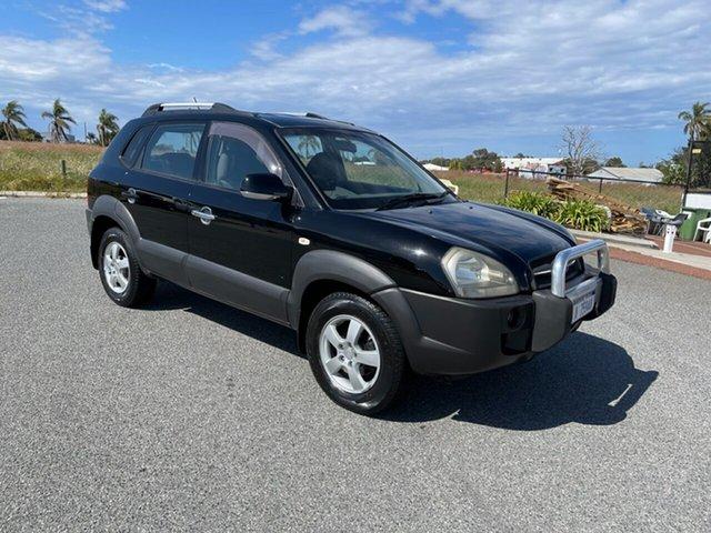 Used Hyundai Tucson Wangara, 2006 Hyundai Tucson Black 4 Speed Auto Selectronic Wagon