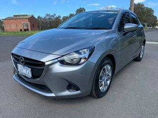 2016 Mazda 2 DJ Series Neo Silver Sports Automatic Hatchback.